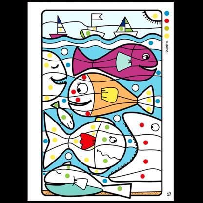 Крокотак: Оцветяване по номер, цвят и форма - страница 2